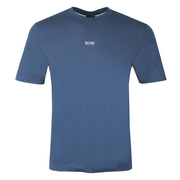 BOSS Mens Blue Casual TChup T-Shirt