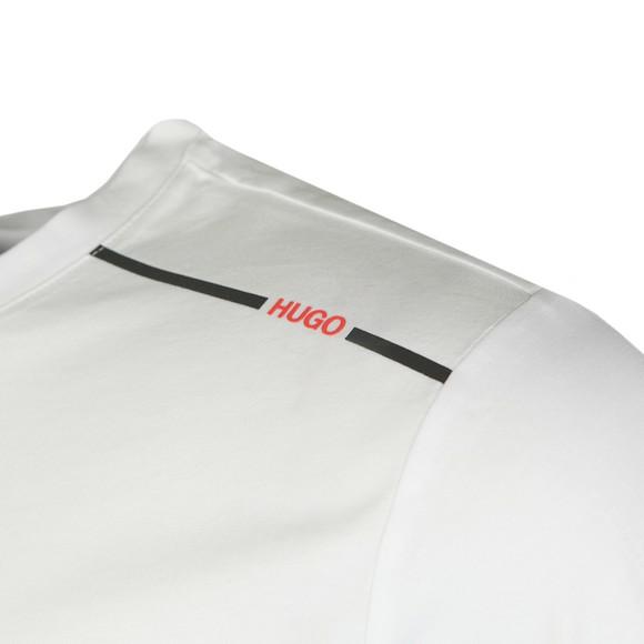 HUGO Mens White Dyrtid T-Shirt