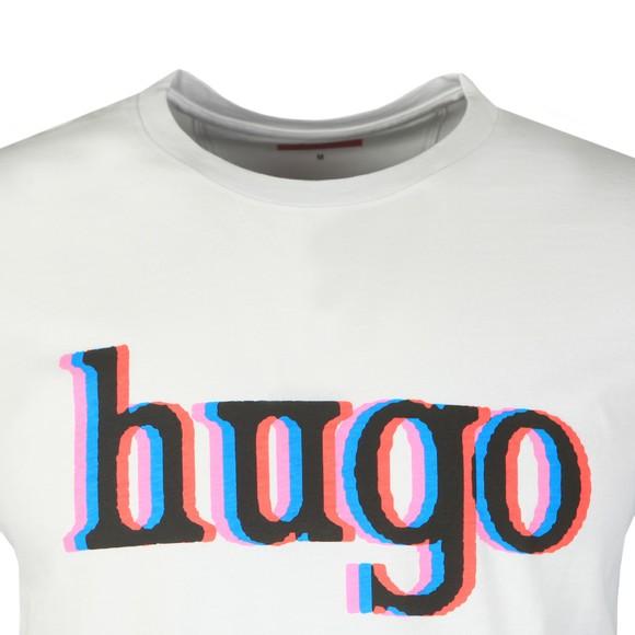 HUGO Mens White Dontrol T-Shirt