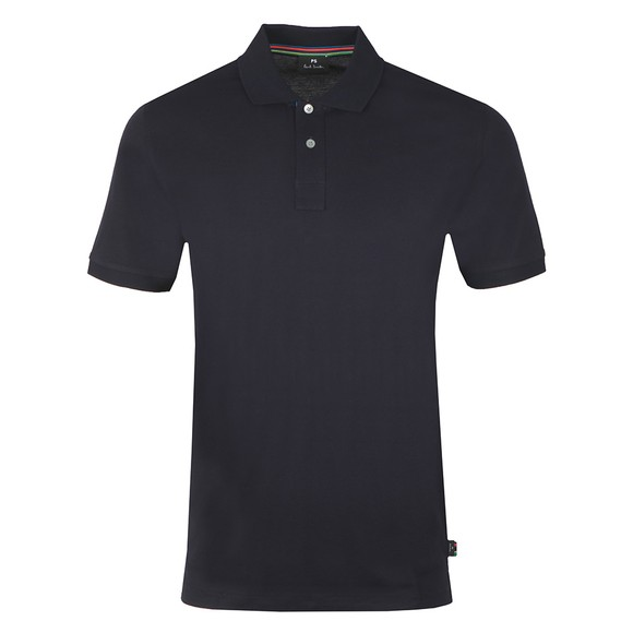 PS Paul Smith Mens Blue Regular Fit Polo Shirt