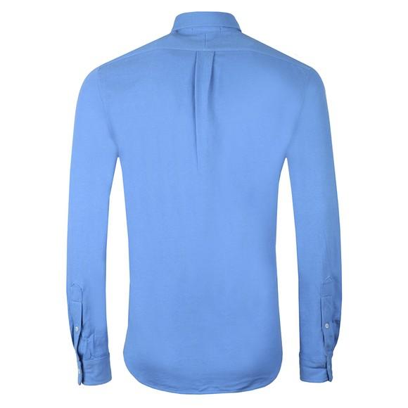 Polo Ralph Lauren Mens Blue Featherweight Mesh Shirt main image