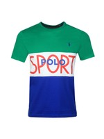 Tennis Polo Sport Panel T-Shirt