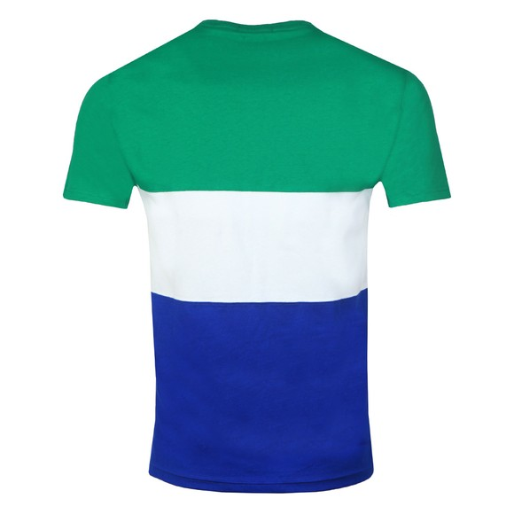 Polo Ralph Lauren Mens Green Tennis Polo Sport Panel T-Shirt main image