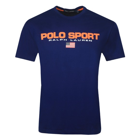 Polo Sport Ralph Lauren Mens Blue Logo T Shirt