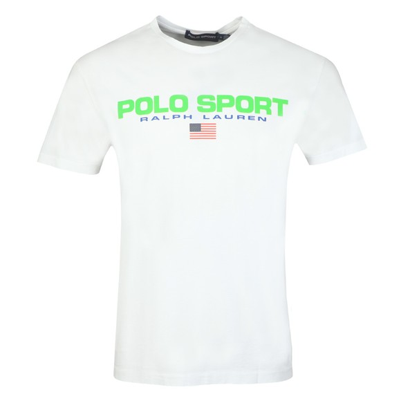 Polo Sport Ralph Lauren Mens White Logo T Shirt