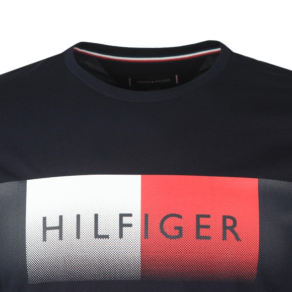 Tommy Hilfiger Mens Blue Cool Fade T-Shirt main image