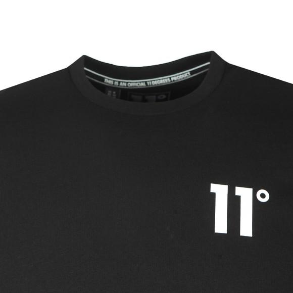 Eleven Degrees Mens Black Core T-Shirt main image
