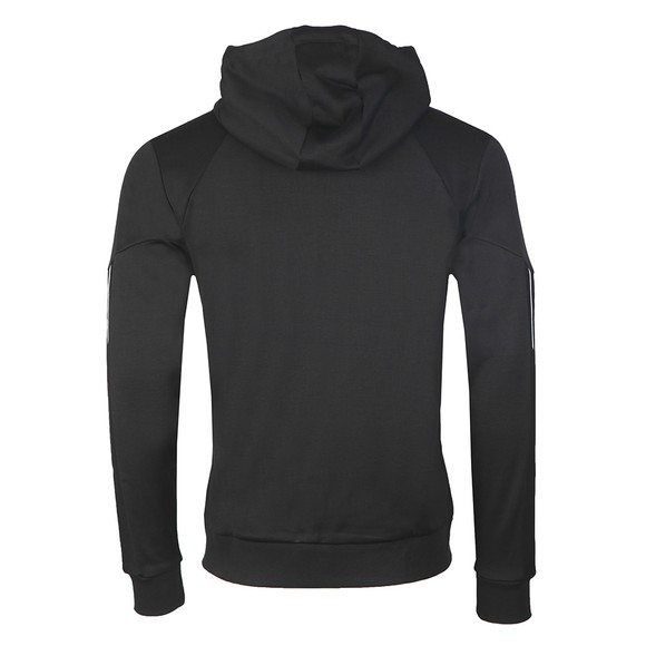 BOSS Mens Black Athleisure Saggy Curved Hoodie main image