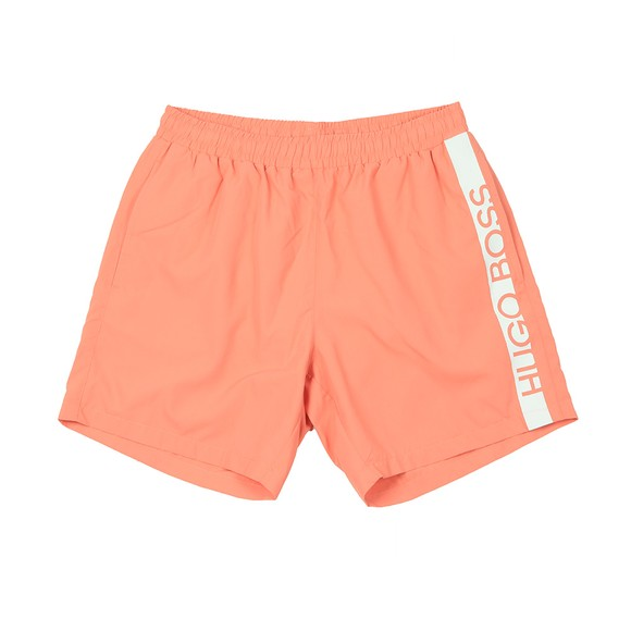 BOSS Bodywear Mens Orange Dolphin Swim Shorts