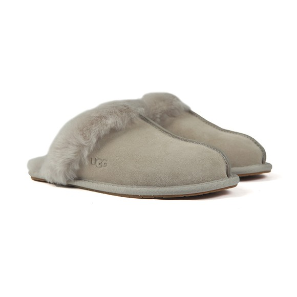 Ugg Womens Grey Scuffette II Slipper