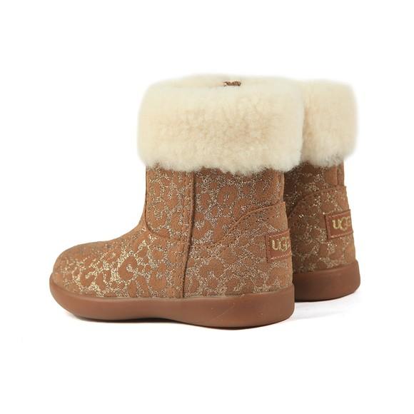 Ugg Girls Brown Jorie II Glitter Leopard Boot main image