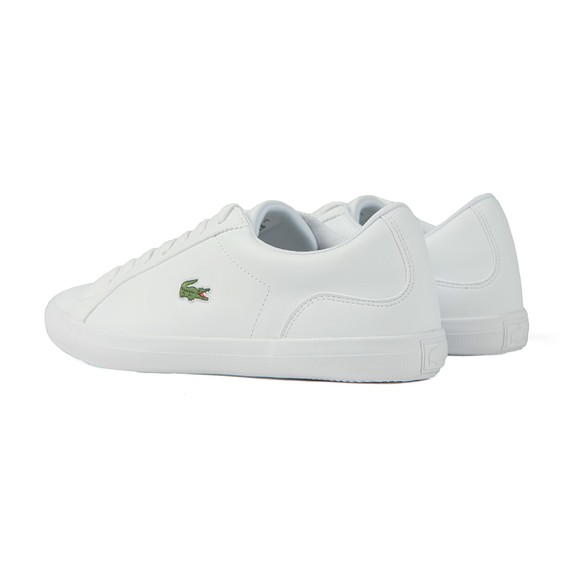 Lacoste Mens White Lerond Leather Trainers main image