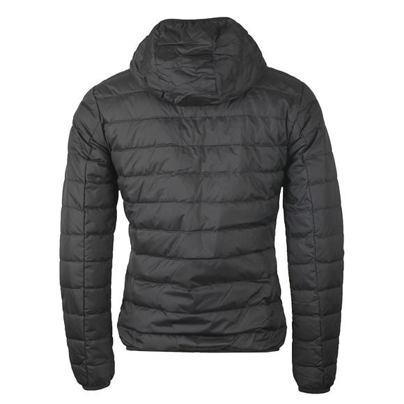 EA7 Emporio Armani Mens Black Down Tape Zip Jacket main image