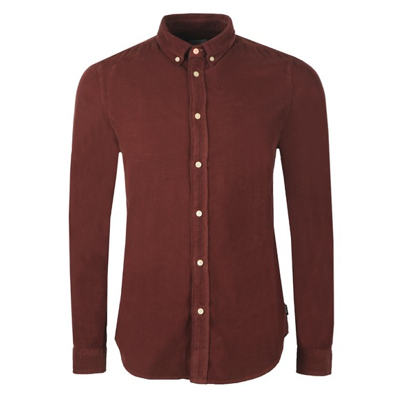 PS Paul Smith Mens Red Cord Shirt