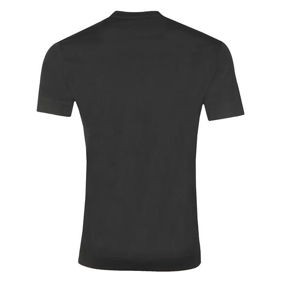 Emporio Armani Mens Black Gloss Logo T-Shirt main image