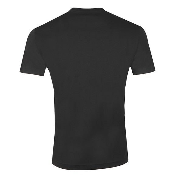 EA7 Emporio Armani Mens Black Small Logo T-Shirt main image