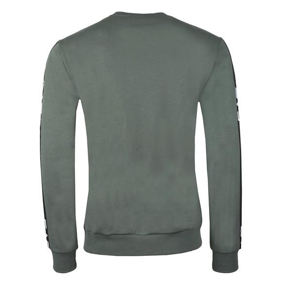EA7 Emporio Armani Mens Green Taped Arm Sweatshirt main image
