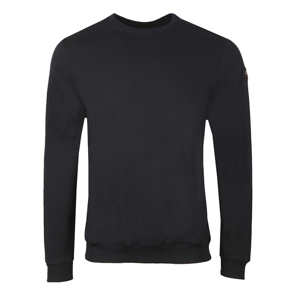 Paul & Shark Mens Black Crew Neck Sweatshirt
