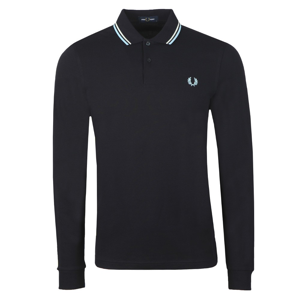 L/S Tipped Polo Shirt main image