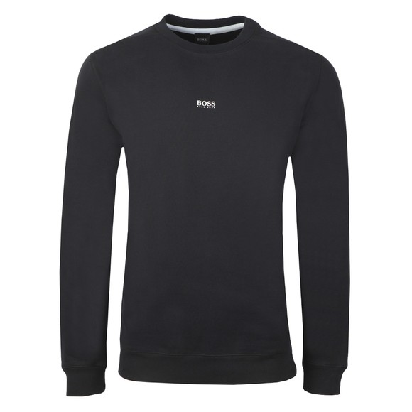 BOSS Mens Black Casual Weevo Sweatshirt