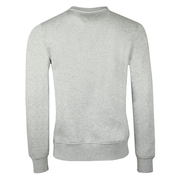 Tommy Hilfiger Mens Grey Tommy Flag Sweatshirt main image