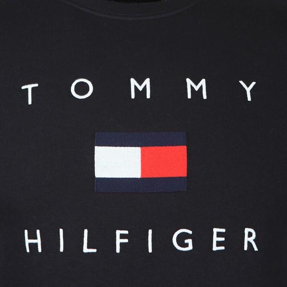 Tommy Hilfiger Mens Blue Tommy Flag Sweatshirt