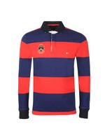 L/S Varsity Block Strip Rugby Shirt