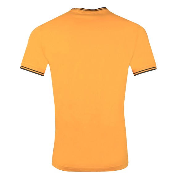 Fred Perry Mens Yellow Twin Tipped T-Shirt main image