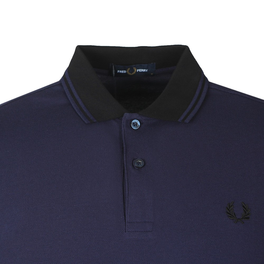 Contrast Rib Polo Shirt main image