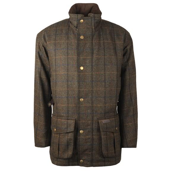 Barbour Countrywear Mens Green Woolsington Jacket