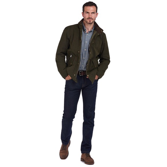 Barbour Lifestyle Mens Green Chester Jacket main image