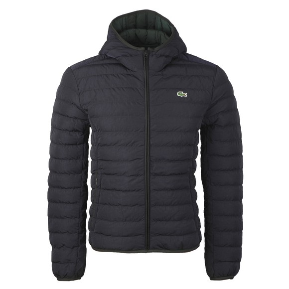 Lacoste Mens Blue BH1930 Quilted Jacket main image