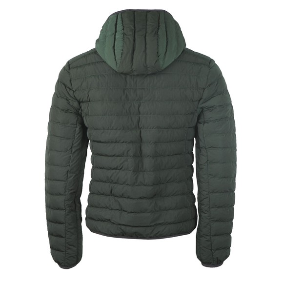Lacoste Mens Green BH1930 Quilted Jacket main image