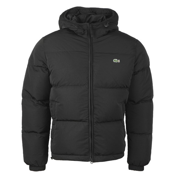 Lacoste Mens Black BH1966 Quilted Jacket