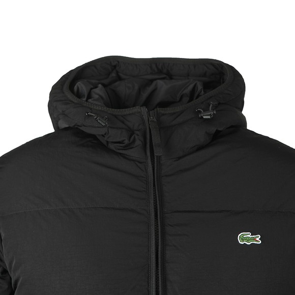 Lacoste Mens Black BH1966 Quilted Jacket main image