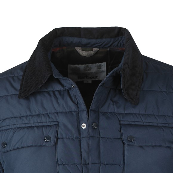 Barbour Beacon Mens Blue Baffle Akenside Jacket