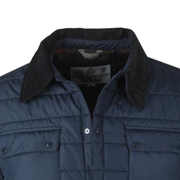 Barbour Beacon Mens Blue Baffle Akenside Jacket main image