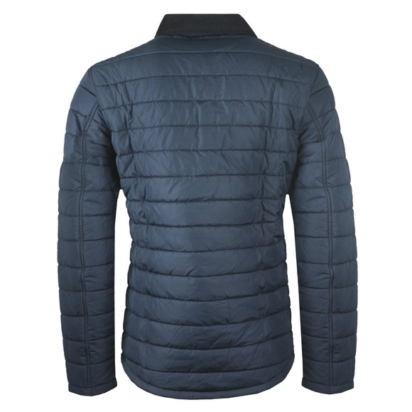 Barbour Beacon Mens Blue Baffle Akenside Jacket main image