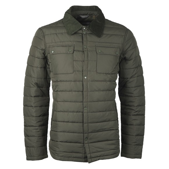 Barbour Beacon Mens Green Baffle Akenside Jacket