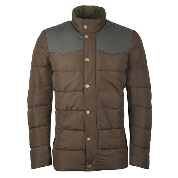 Barbour Countrywear Mens Green Stevenson Quilted Jacket main image