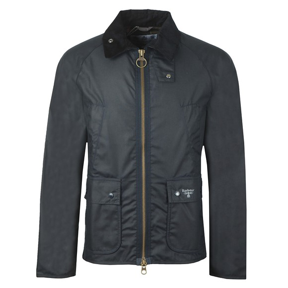 Barbour Beacon Mens Blue Bedale Wax main image