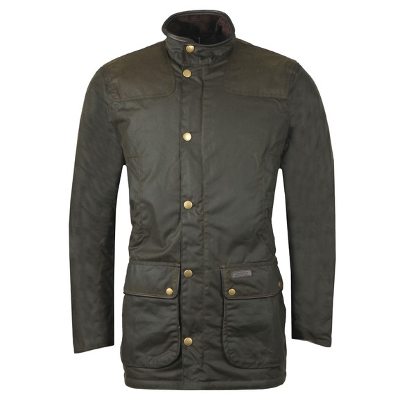 Barbour Countrywear Mens Green Hartlington Wax Jacket main image