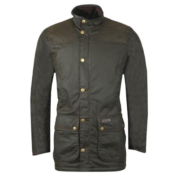 Barbour Countrywear Mens Green Hartlington Wax Jacket