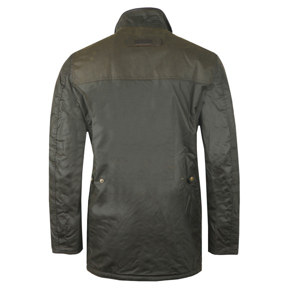 Barbour Countrywear Mens Green Hartlington Wax Jacket main image