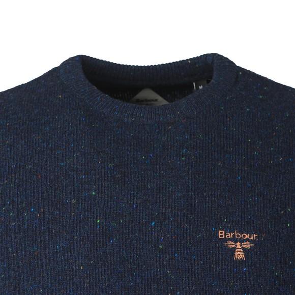 Barbour Beacon Mens Blue Roan Crew Jumper