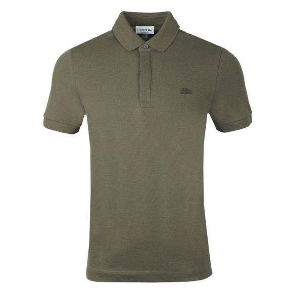 Lacoste Mens Green PH5522 Paris Polo Shirt main image