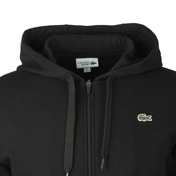 Lacoste Sport Mens Black SH1551 Zip Hoody