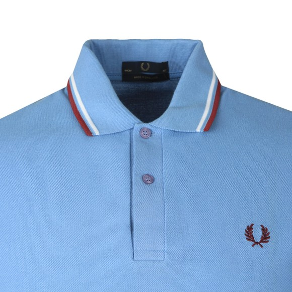 Fred Perry (Reissues) Mens Blue Tipped Polo