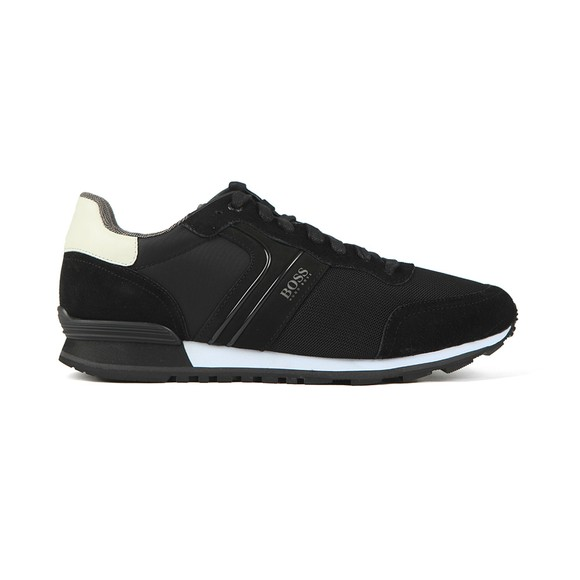 BOSS Mens Black/Black Athleisure Parkour NYMX2 Runner