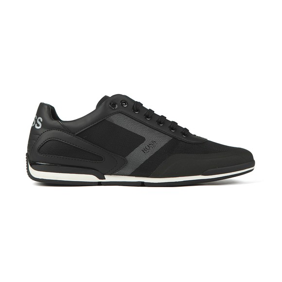 BOSS Mens Black Athleisure Saturn Low ACT5 Trainer